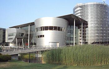 La Gläserne Manufaktur de Volkswagen en Dresde