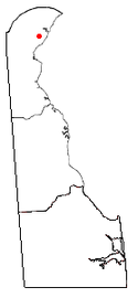 Location of Wilmington Manor, Delaware