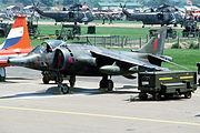 An aircraft on dislay