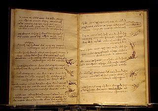 Codex sur le vol des oiseaux