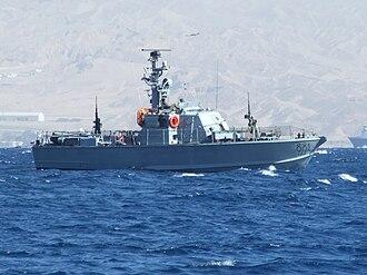Republic of Fiji Military Forces - Patrol boat class Dabur (Israeli boat No. 881)