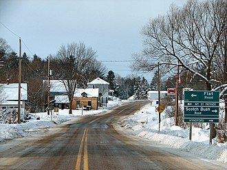 Greater Madawaska - Dacre, on the northern edge of the township
