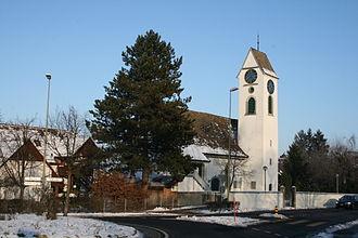 Dällikon - Image: Daellikon Kirche