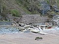 Damaged Coastal Defenses at Redgate Beach.jpg