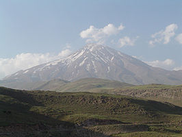 De Damavand is de hoogste berg van de Elboers