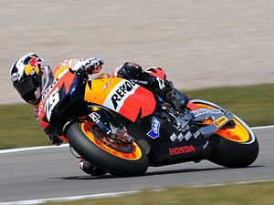 Energy (TV channel) - Honda RC212V ridden by Dani Pedrosa at Assen in 2010
