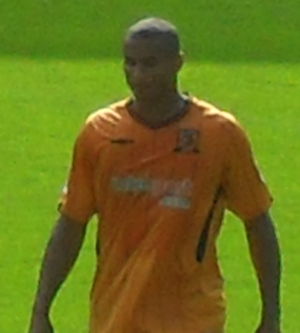 Daniel Cousin - Cousin playing for Hull City in 2009
