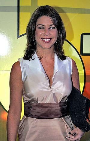 Grupo Silvio Santos - Daniela Beyruti president of SBT and daughter of Senor Abravanel.