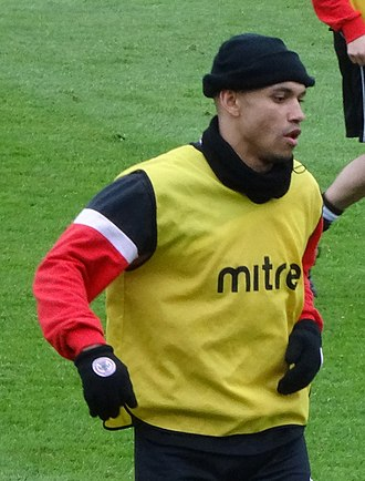 Danny Webber - Webber playing for Accrington Stanley in 2014