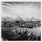 Darling Harbour and Pyrmont docks, by David Moore (7497533516).jpg
