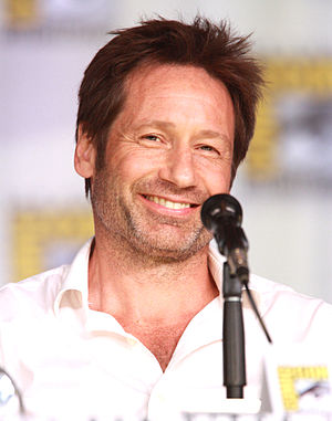 The X-Files (film) - Lead actor David Duchovny who portrayed FBI agent Fox Mulder.