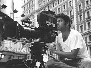 David M. Rosenthal (director) - Rosenthal on location in New York City (photo taken by Joe Gallacher).