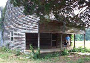 DeJarnette's Tavern - DeJarnette's Tavern, Halifax County, in 2005.