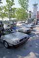 DeLorean lineup RFrontSides CECF 9April2011 (14414496437).jpg