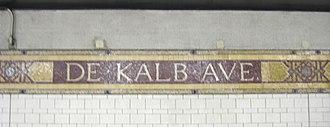 DeKalb Avenue (BMT lines) - Station ID mosaic