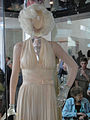 "Debbie Reynolds Auction - Marilyn Monroe ""The Girl"" ivory pleated ""Subway"" dress from ""The Seven Year Itch"" (5852147718).jpg"
