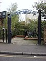 Decorative entrance to the Regent's canal on Baynes St. - geograph.org.uk - 783194.jpg