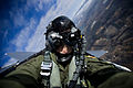 Defense.gov News Photo 101217-F-8155K-106 - U.S. Air Force Staff Sgt. Michael Keller documents an F-15E Strike Eagle aircraft from the 335th Fighter Squadron during a training mission over.jpg