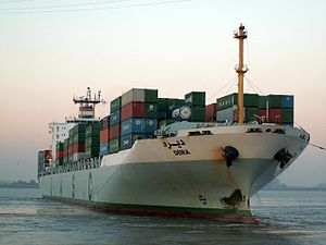 Deira IMO 9149768, at Port of Antwerp, Belgium 11-Oct-2005.jpg