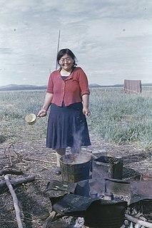 Della Keats Inupiaq Eskimo healer and midwife