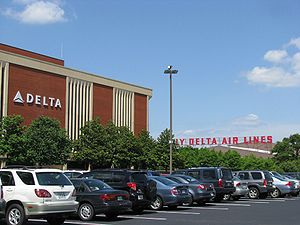 Economy of Atlanta - Delta Air Lines headquarters
