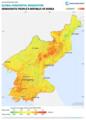 Democratic-Peoples-Republic-of-Korea GHI Solar-resource-map GlobalSolarAtlas World-Bank-Esmap-Solargis.png