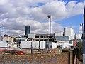 Demolition of former printing works, E14 - 32978428140.jpg