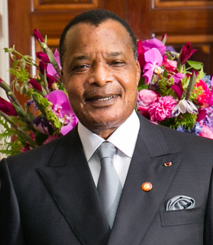 affiche Denis Sassou Nguesso