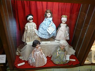Denver Museum of Miniatures, Dolls and Toys - Madame Alexander dolls on display