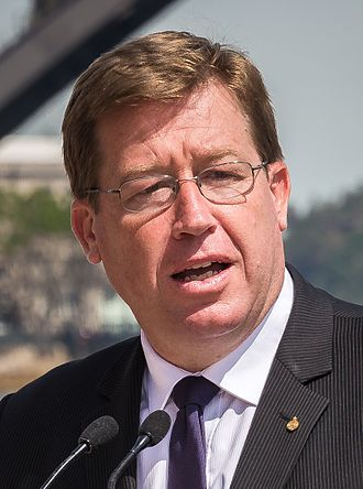 Minister for Police and Emergency Services (New South Wales) - Image: Deputy Premier of New South Wales Troy Grant