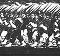 Derkovits, Gyula - Dózsa-series I. Marchers (1928).jpg