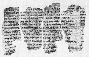 Derveni papyrus - Some fragments of the Derveni papyrus
