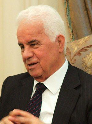 President of Northern Cyprus - Image: Derviş Eroğlu (cropped)