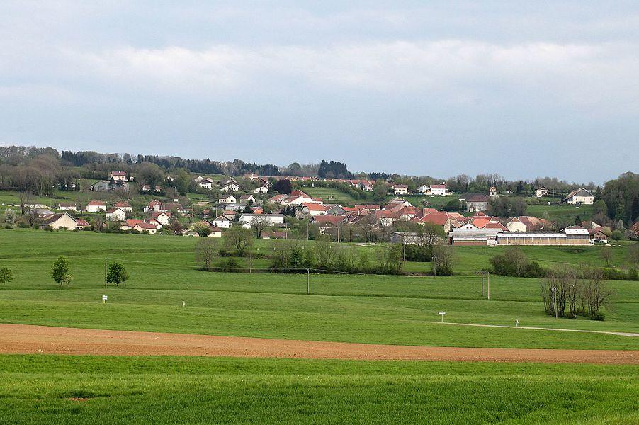 Vue de Déservillers (Doubs).