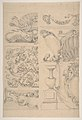 Design for Cartouches Decorated with Sea-Shells, Garlands, Foliage, Volutes and Urns MET DP810678.jpg