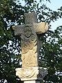 Detalle cruceiro, igrexa de Vimianzo, Santiso, A Coruña.JPG