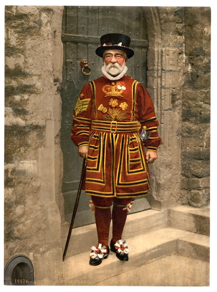 File:Detroit Publishing Co. - A Yeoman of the Guard (N.B. actually a Yeoman Warder) - Original scan.tiff
