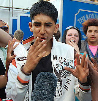 Anwar Kharral - Patel On The Stage in Skins Party 2007