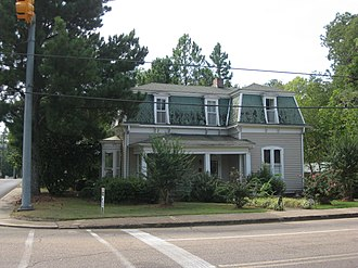National Register of Historic Places listings in Clay County, Mississippi - Image: Dewitt Anderson House