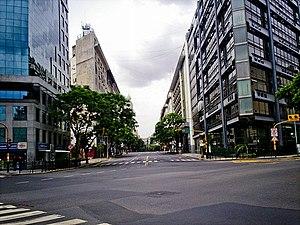 Avenida Presidente Julio Argentino Roca - Image: Diagonal Sur