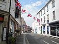 Diamond Jubilee 2012 bunting in Newport Holyrood Street.JPG