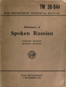 Dictionary of spoken Russian (1945).djvu