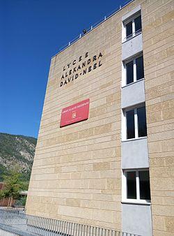 Image illustrative de l'article Lycée polyvalent Alexandra-David-Néel de Digne-les-Bains