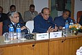 Dinesh Trivedi addressing the Conference of General Managers of all Zonal Railways and Production Units, in New Delhi. The Minister of State for Railways, Shri K.H. Muniyappa and the Chairman, Railway Board.jpg