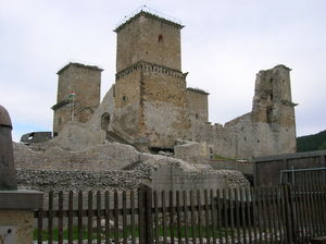 Borsod County - The castle of Diósgyőr, built in the second half of the 13th century
