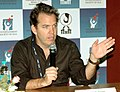 Director of the flm 'Last Stop for Paul' Neil Mandt addressing a press conference on November 29,2007 at IFFI, Panaji, Goa.jpg