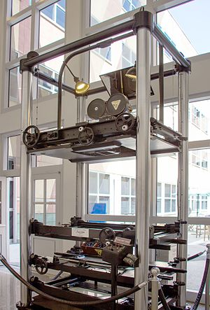 Multiplane camera - The 1937 multiplane camera developed by Walt Disney Studios