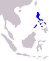 Distribution crocodylus mindorensis.PNG