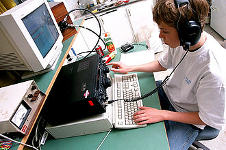 High-speed telegraphy - Example of real high-speed telegraphy demonstrated by Fabian DJ1YFK of Dresden, Germany. High speed telegraphy is both generated and received using computers