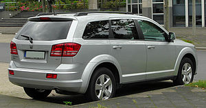 Dodge Journey - Dodge Journey (Europe; pre-facelift)